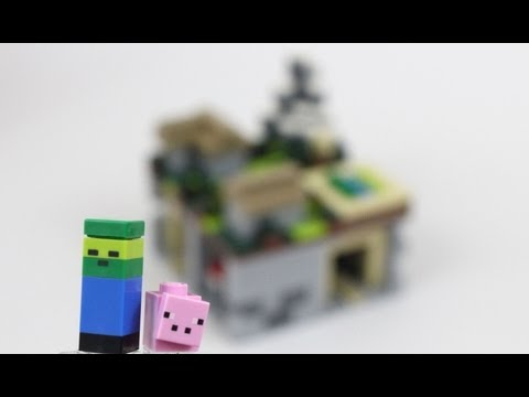 LEGO Minecraft The Village Micro World Review 21105