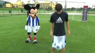Lionel Messi vs Mickey Mouse HQ