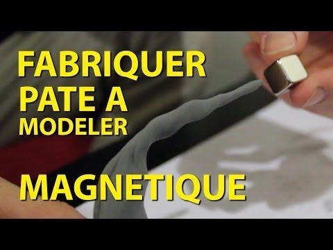 Expérience - Fabriquer Pate à modeler Magnétique - Dr Nozman