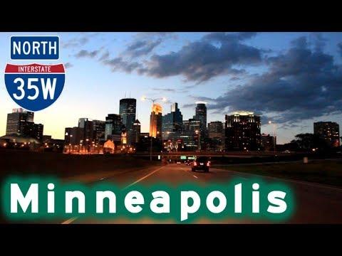I-35W North to Minneapolis