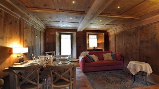 Apartments Gressoney in Walser house finely restored  |  Appartamenti Gressoney in casa Walser