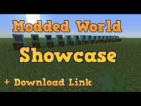 Minecraft PS3 Modded World Showcase + Download Link