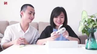 Schannel - Mở hộp Apple Watch cùng Tú Linh và Tò Mò