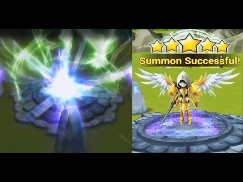 Summoners War: Sky Arena Natural 5* Star Summon !