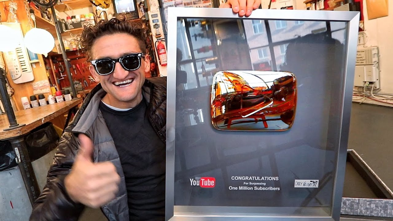 SECRET TO A GOLD (MILLION) PLAY BUTTON