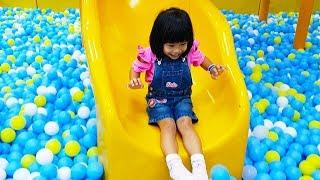 Taman Bermain Anak Mandi Bola | Bermain Ice Cream Shop | Mainan Anak Perempuan | Kidzoona Jakarta
