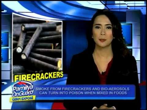 Firecrackers can emit food contaminants, experts warn