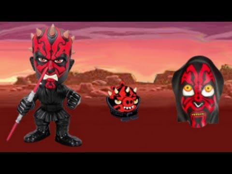 Darth Maul in Angry Birds Star