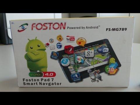Foston fs-mg789 - 7 polegadas ... Analise