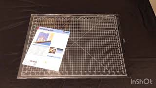 Dahle vantage Cutting mat 18x24 Review / Unboxing Low Cost  Amazon link below