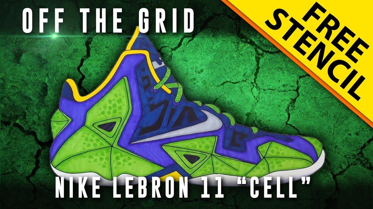 Lebron 10 Drawings Off The Grid Nike Lebron 11