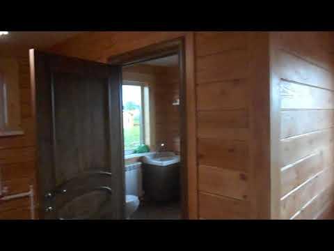 Наружная и внутренняя отделка дома из бруса
