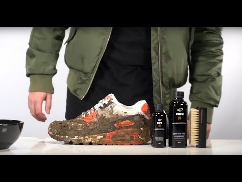 Muddy Nike Airmax og infared Brought back to life with Crep protect Cure
