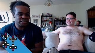 A shirtless Greg Miller appears! — Expansion Pack
