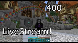 Minecraft - Hypixel games! 400 Subscriber stream!