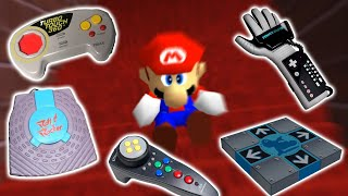 Mario 64's BLJ with 15 Stupid Controllers