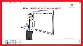 How to Make a Video Presentation - Software Demo