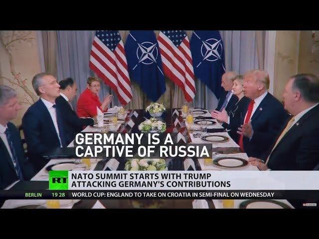 Germany 'captive' of Russia: Trump slams NATO allies at summit
