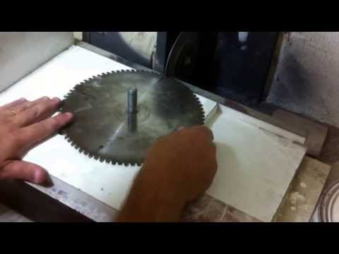 Homemade tablesaw Blade Grinder 2