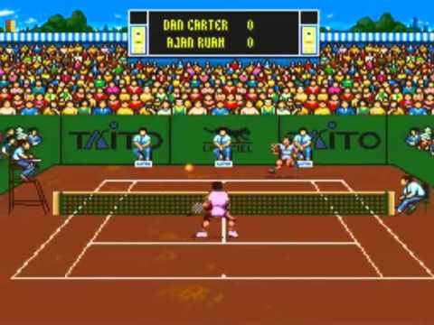 Super Nintendo Entertainment System International Tennis Tour (USA)