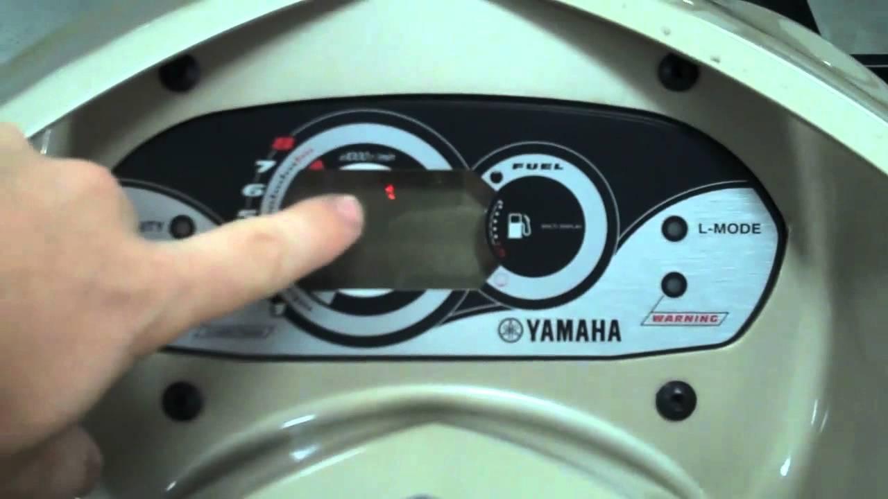 Yamaha R Diagnostic Codes