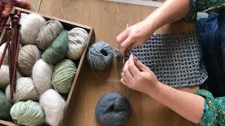 Florence Scarf Crochet Along Tutorial - Release 1