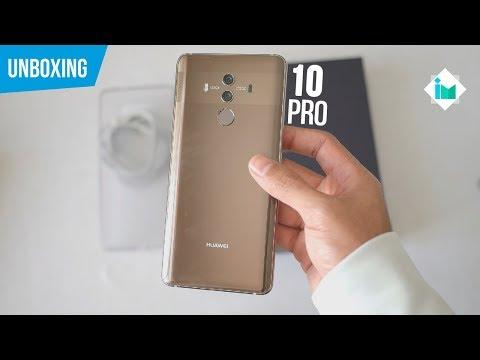 Huawei Mate 10 Pro - Unboxing en español
