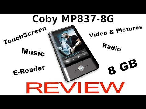 REVIEW: Coby MP837-8G Touchscreen MP3 & Video Player