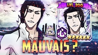 BLEACH BRAVE SOULS : 6? AIZEN HOGYOKU EST MAUVAIS ? REVIEW/GAMEPLAY 200
