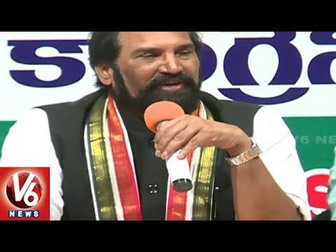 TPCC Chief Uttam Kumar Reddy Speaks On No Confidence Motion in Parliament | V6 News