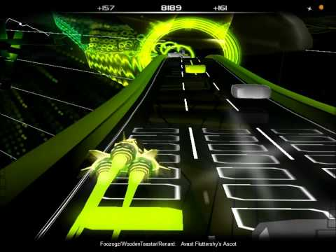Audiosurf - Foozogz vs. Wooden Toaster - Avast Fluttershy's Ascot Ironmode 99.9% Perfect Run