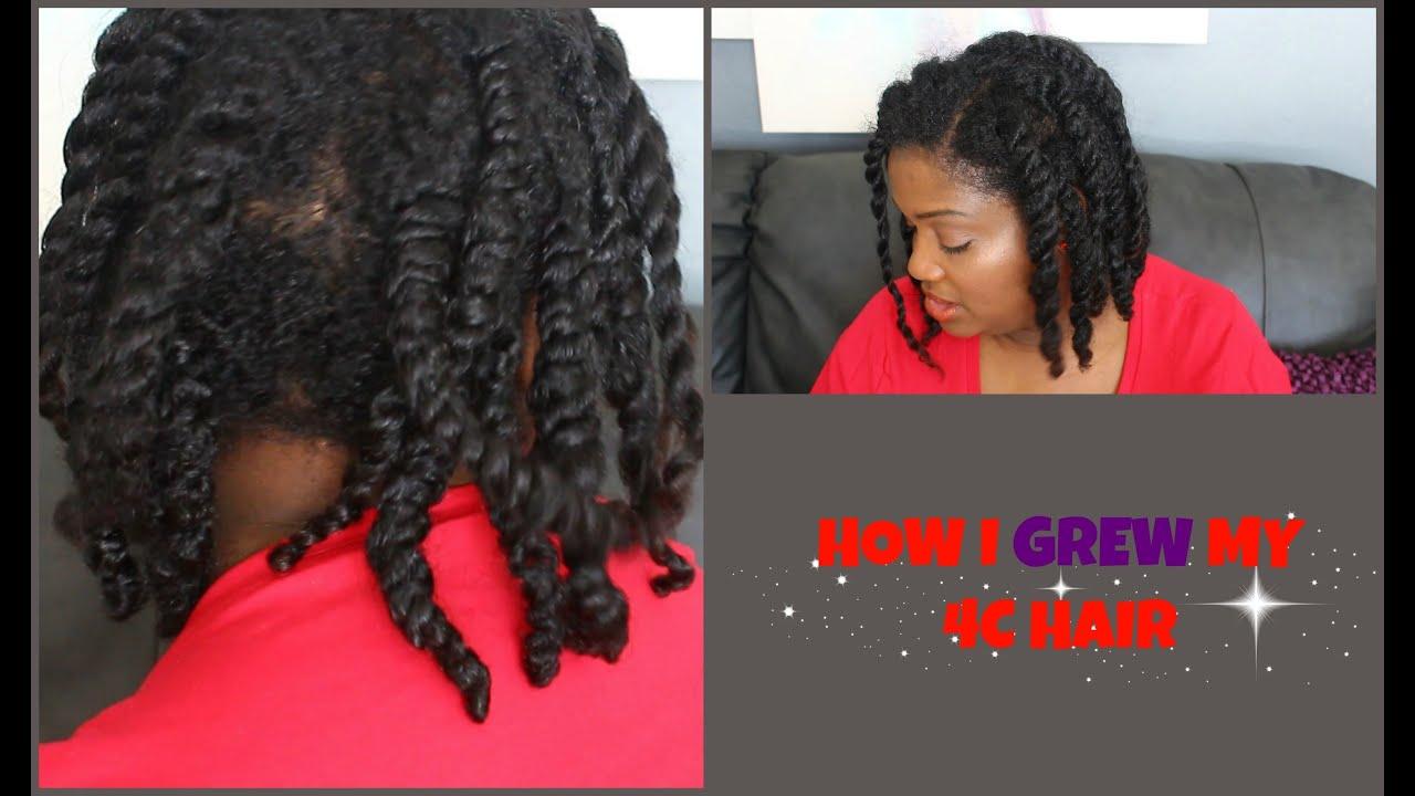 How To Grow Natural Long Black Hair