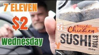 7 Eleven $2 Sushi and Sandwiches Review - Greg's Kitchen
