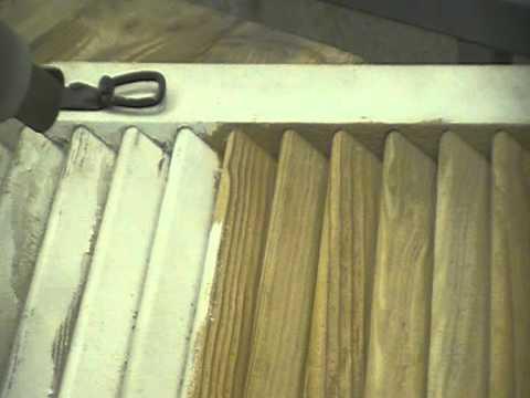 decapage aerogommage sablage volets bois persiennes prix