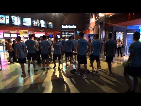 Sub-20   La selección se trasladó al Movie de Portones para ver