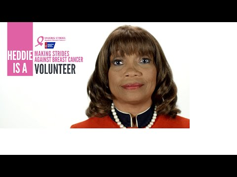 Making Strides Against Breast Cancer Volunteer Interview