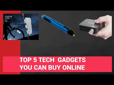 TOP 5 TECH GADGETS YOU CAN FIND ONLINE [HINDI]