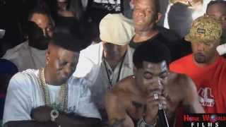 Webbie Video - Rich Homie Quan, Lil Boosie, & Webbie at Koko's (Shreveport) | All Access with K. White