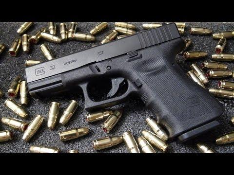 glock 32 357 sig handgun review youtube