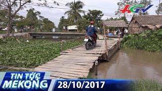 Hậu Giang: Nghịch lý qua cầu thu phí đò | TIN TỨC MEKONG - 28/10/2017