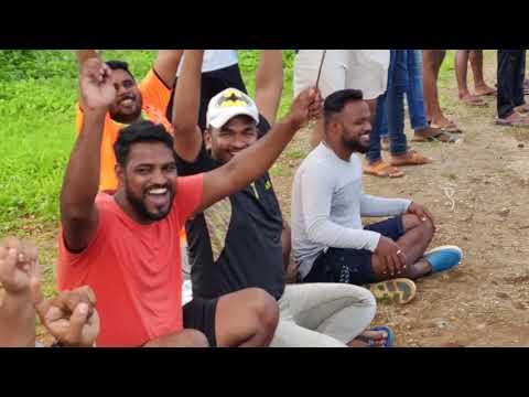 bhaumik patil to prashant kini 6 balls 41 runs, mauli chashak 2018,