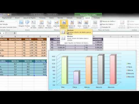 Curso Excel 2010 / Aula 17 - Gráficos