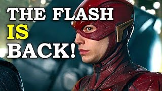 CONFIRMED: Ezra Miller's The Flash is NOT CANCELED!