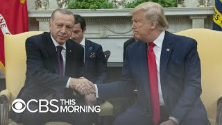 Turkish president plays anti-Kurds video in Oval Office meeting
