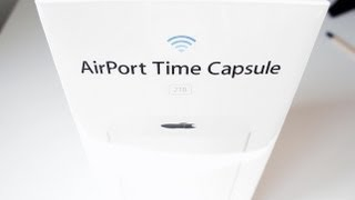 Airport Time Capsule 2TB Unboxing (2013)