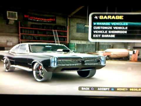 Midnight Club La Remix Ps3 My Cars List Youtube