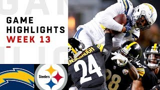 Chargers vs. Steelers Week 13 Highlights | NFL 2018