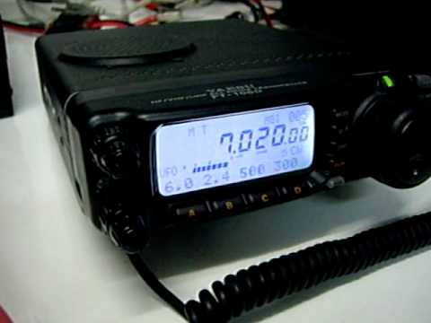 ft-100d cw test - py2rgr qth
