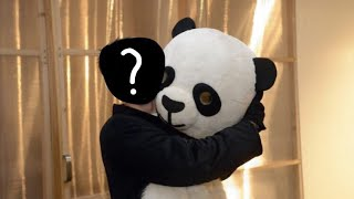 The panda face reveal dude perfect