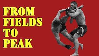 Khabib Nurmagomedov | From Fields to PEAK - Motivational Video